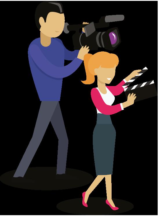 servicio de producción audiovisual - periodistas - Servicio de Producción Audiovisual